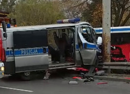Pogrzeb policjanta, który zmarł po wypadku