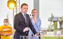 Szymon Hołownia z wizytą w Gdyni