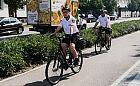 Strażnicy miejscy w Gdyni wsiedli na rowery