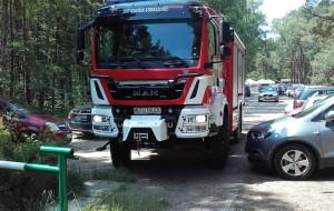 Środkowy palec do strażaków jadących na pomoc tonącej