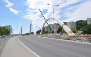 Postępują prace przy budowie wiaduktu Biskupia Górka