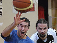Startuje liga koszykówki