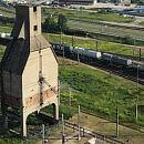 Nietypowe Budowle Trójmiasta. Kolejowa wieża jak postać z Minecrafta