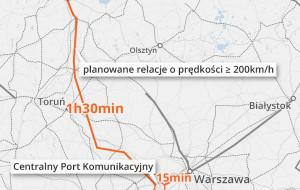 """Nowa """"szprycha"""" kolejowa z Trójmiasta do Warszawy?"""