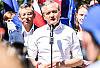 Biedroń spotkał się z wyborcami w Gdyni