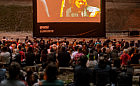 Kino po zachodzie słońca w Teatrze Leśnym
