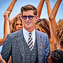 Strefa dżentelmena: biznesowa elegancja na lato