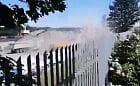 Pył z przeładunku kruszywa dokucza mieszkańcom Nowego Portu
