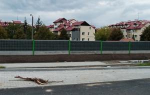 Trasa Słowackiego: małe ekrany, duży hałas