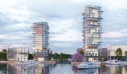 Nowa marina w Brzeźnie i wejście na plażę na Stogach. Wizje studentów i plany miasta