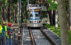 Otwarto dwie linie tramwajowe: na al. Adamowicza i na Stogi