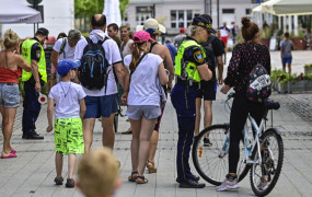 Sopot. Mandaty dla rowerzystów na Monte Cassino