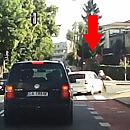 Potrącenie rowerzysty w Gdyni - kto zawinił?