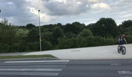 Nowe przejście obok starych pasów na Słowackiego