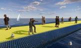 Wizja architektów. Plastikowy pomost wokół klifu w Orłowie