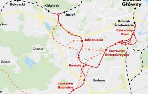 Nowa trasa PKM na południu Gdańska. Powstanie za 10-15 lat