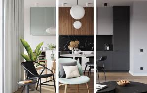Model M - trzy style wykończenia mieszkań Moderny