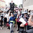 SM Ujeścisko. Były prezes zwolniony z aresztu, mieszkańcy protestują