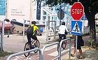 """Spór o znak """"stop"""" na drodze rowerowej w Sopocie"""