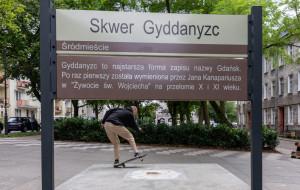 Kwietniki kontra deskorolkarze. Znowu spór w centrum Gdańska