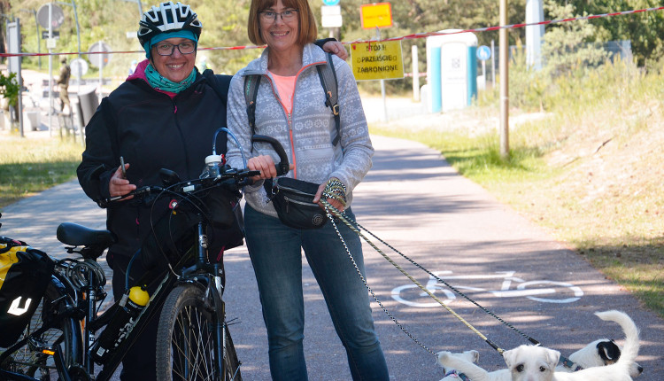 Wyprawa szlakiem rowerowym R10 wzdłuż Wybrzeża