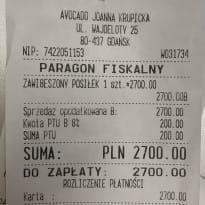 """Anonimowy klient """"zawiesił"""" paragon na 2,7 tys. zł"""
