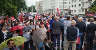 Wiec poparcia dla prezydenta Andrzeja Dudy w Gdyni