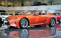 Kabriolet Lexus LC 500 zadebiutował w...