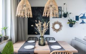 Trójmiejskie Wnętrza: mieszkanie w stylu boho na Zaspie