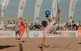 Puchar Polski w piłce nożnej plażowej. Mistrzowie świata grają w Brzeźnie