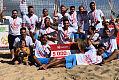 PP w piłce nożnej plażowej. SAP wygrał w trójmiejskim finale w Brzeźnie