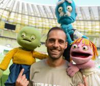 Flavio Paixao z Lechii Gdańsk w serialu dla dzieci