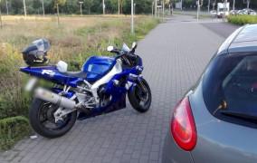 Po amfetaminie gnał motocyklem 168 km/h przez al. Płażyńskiego