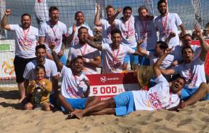 Sopocka Akademia Piłkarska wygrała turniej o Puchar Polski w beach soccerze