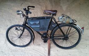 Wystawa zabytkowych rowerów w Gdańsku