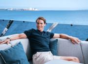 Rafael Nadal na pokładzie katamaranu z gdańskiej stoczni