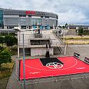 Nowe boisko do koszykówki przy Ergo Arenie