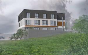 Pięć prób wyboru wykonawcy budynku użyteczności publicznej na Chełmie