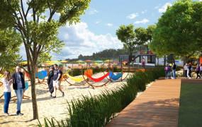 Nowa strefa relaksu w miejsce hali plażowej w Brzeźnie