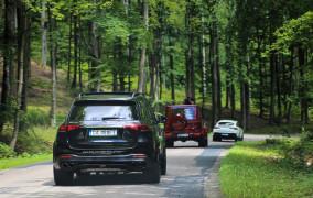 10 aut, 4856 KM i 6 mln zł na kołach - trwa AMG Performance Tour