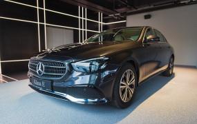 Dealer jako pierwszy w Polsce zaprezentował nowego Mercedesa klasy E