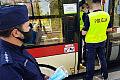 Pozytywne wyniki kontroli maseczek w komunikacji miejskiej