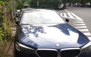 Auta zastawiają skrzyżowanie w centrum Gdyni