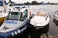 Policjanci odzyskali skradzioną motorówkę