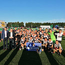 Jaguar Gdańsk - Kaszubia Kościerzyna 1:0. Piłkarze wygrali PP na Pomorzu i 40 tys. zł