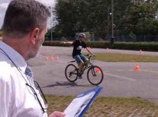 Karta rowerowa to nie przeżytek. PORD egzaminuje dzieci