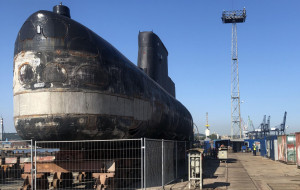 Okręt podwodny trafi do Muzeum Marynarki Wojennej