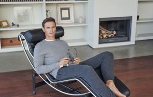 Męska elegancja w domowym zaciszu