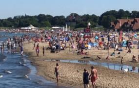 Na Pomorzu najwięcej turystów w Polsce