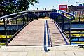 Nowa kładka nad kanałem Raduni